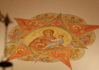 Pokrovan kirkko kattomaalaukset